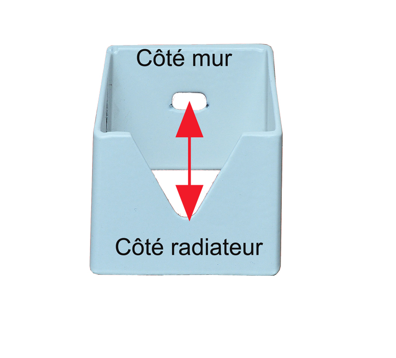 support radiateur marbre