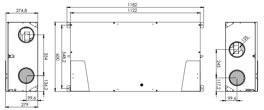 double flux haut rendement 92 116 sodielec berger. Black Bedroom Furniture Sets. Home Design Ideas