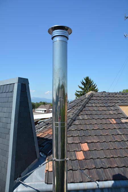 Installateur de chemin e inox belfort 90 sodielec berger for Conduit de cheminee inox
